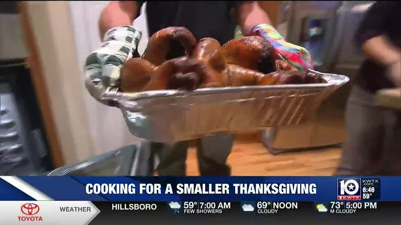 With health officials recommending smaller groups for Thanksgiving, your meal plan may look...