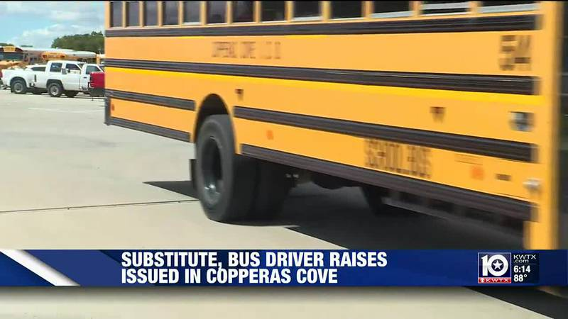 Substitutes, bus drivers to get raise at Copperas Cove ISD