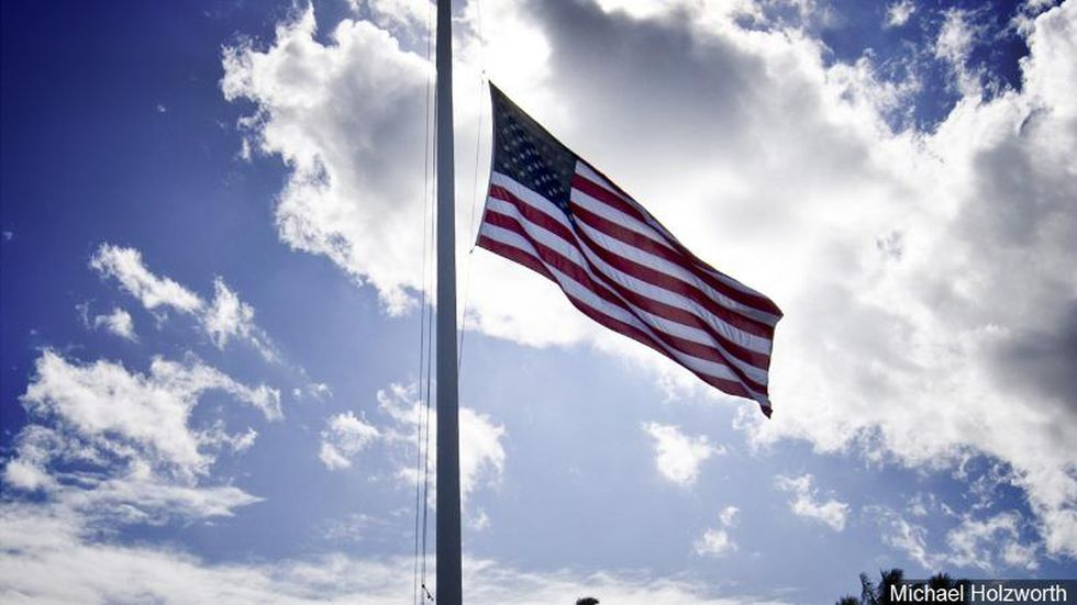 Trump orders flags to fly at half-staff to honor