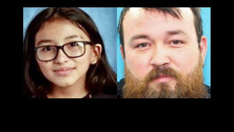 Rosemary Singer, 10, is believed to be with Ronald Singer, 35.
