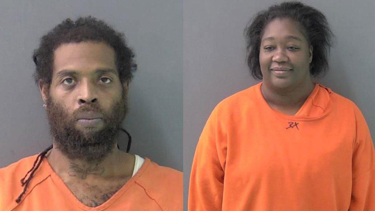 Deputies arrested Don Miller (left) and Shanikka Toliver.
