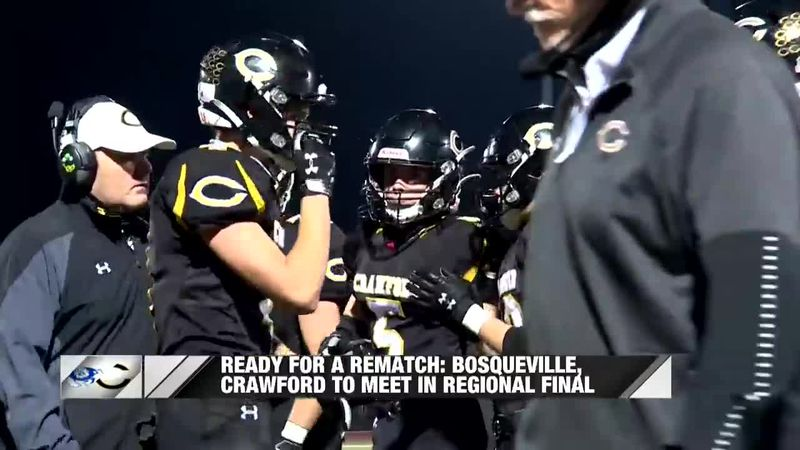 Ready for a Rematch: Bosqueville, Crawford to meet in Regional Final