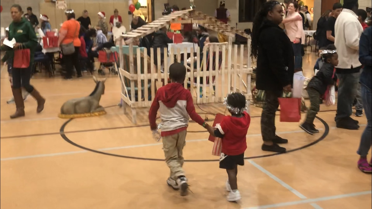 First Methodist Church of Waco hosted the families of incarcerated men and women Thursday night at it's annual Angel Tree event.