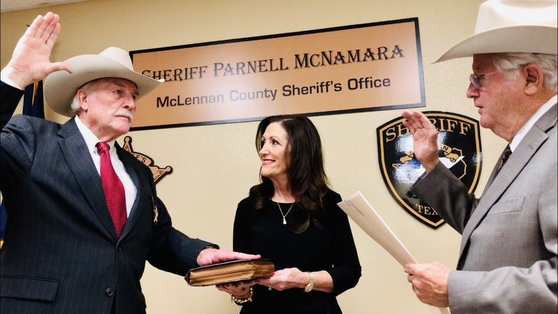 Third time's not a charm for Parnell McNamara: during Monday's swearing in ceremony, the...