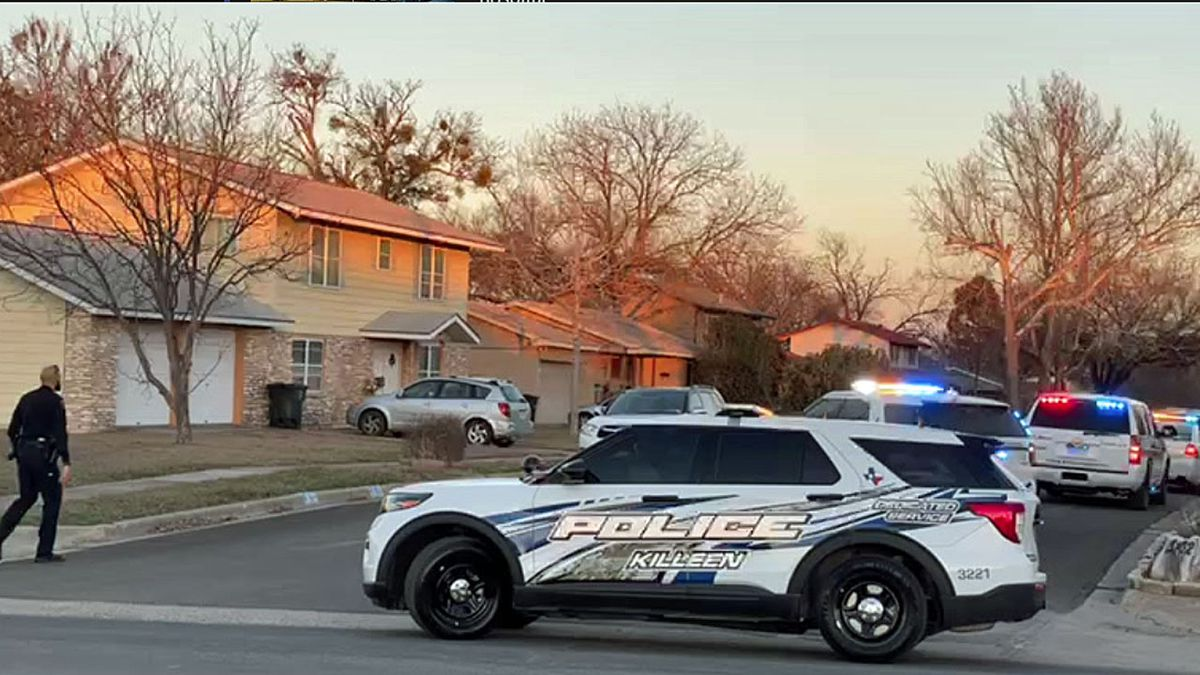 The vehicle struck a parked car and then a home in the 3200 block of Lake Charles after the...