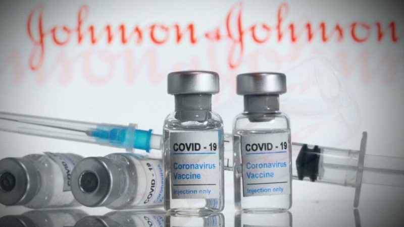 Amid a pause in the administration of the one-dose Johnson & Johnson COVID-19 vaccine Tuesday,...