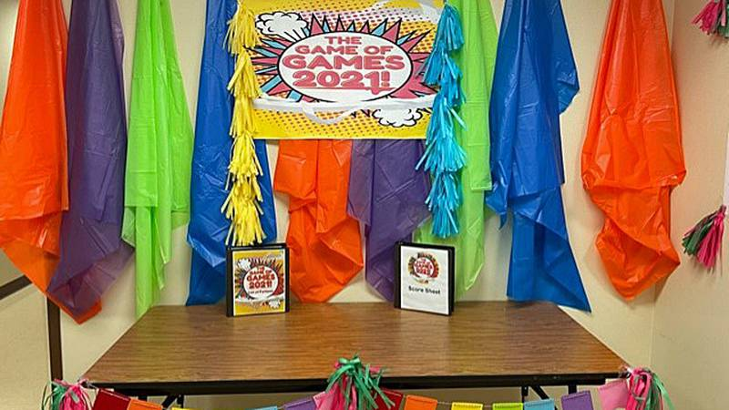 Reeces Creek Elementary in the Killeen ISD put on Game of Games 2021.