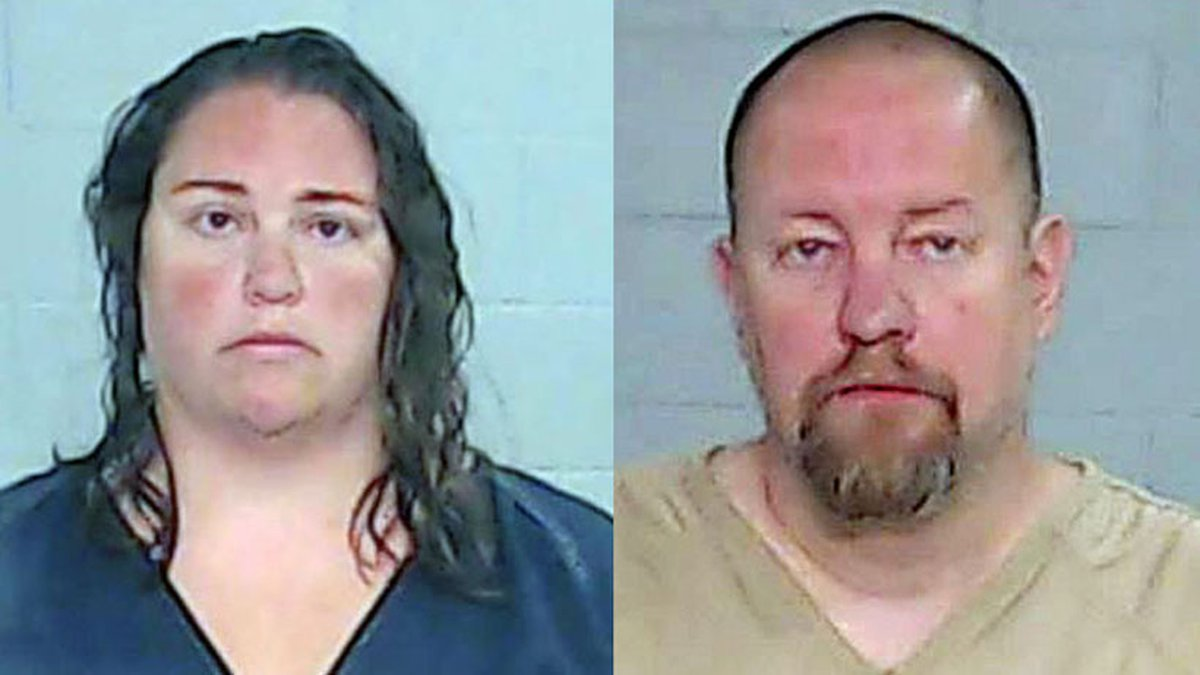 Daniel Schwarz, 44, and Ashley Schwarz, 34, of Odessa have been charged with capital murder.
