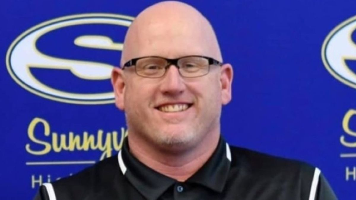 Casey Reeves, assistant coach of Sunnyvale High School's girls varsity basketball team, has...