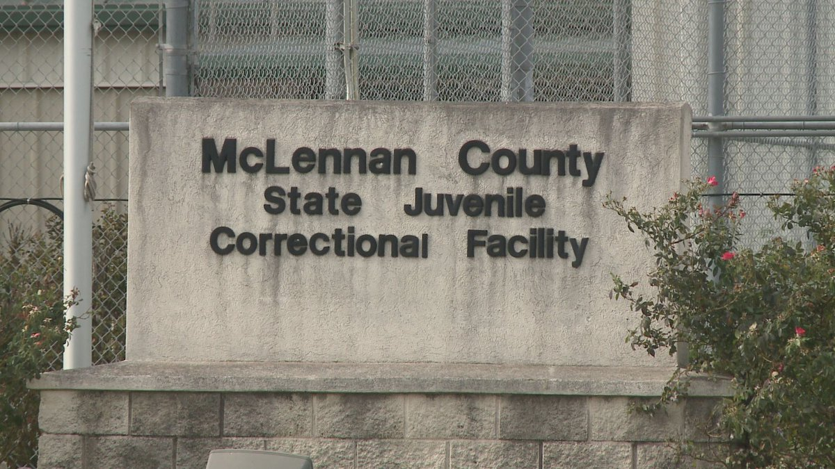 The McLennan County State Juvenile Correctional Facility in Mart, Texas.