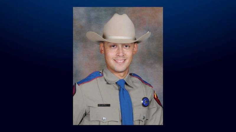 DPS Trooper Jacob Buskohl, of Waco, was honored with a Lifesaving Award for his role in saving...