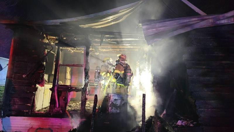 Crews respond to Temple house fire