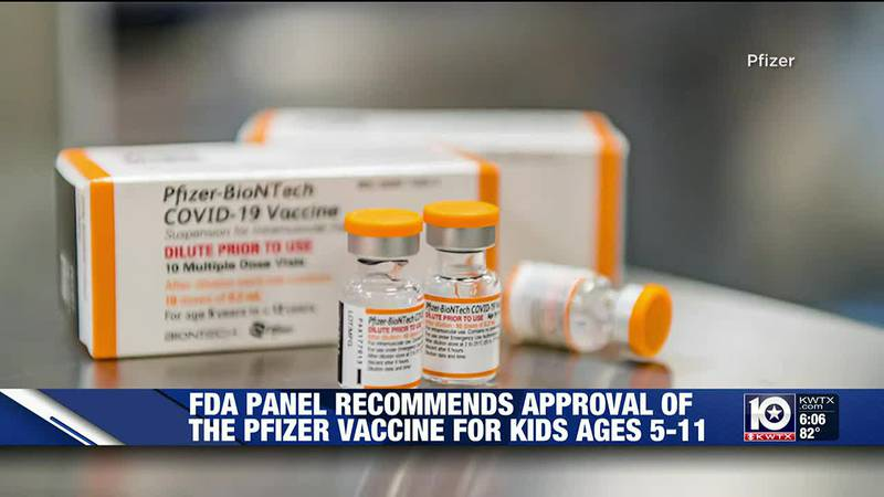 FDA panel recommends COVID vaccine for children 5-11