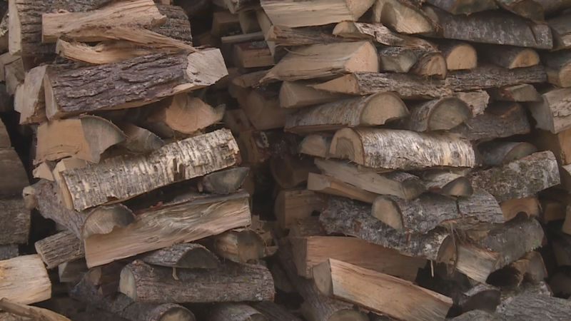Firewood is hard to come by in Bell County. (WSAW Photo)