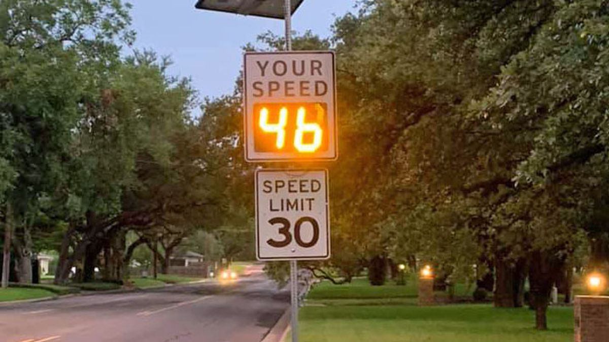 Waco city officials want to know how many people are speeding through a local residential neighborhood. (Waco Police Dept. photo)