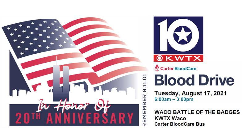 The Waco Battle of the Badges is an annual Summer blood drive event hosted at different...
