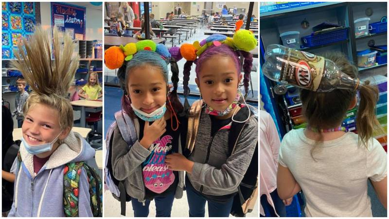 Fun Fridays at Midway ISD allow students to dress up and help raise money for food insecure...