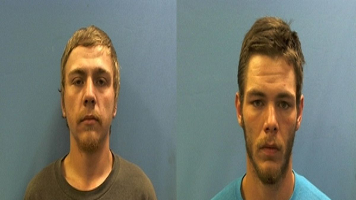 Casey Wade Hughes, 23, and Justice Allen Stanford, 26, who were originally charged with murder...