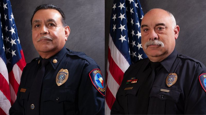 Two police officers of the Waco Police Department are retiring on the last day of 2020.