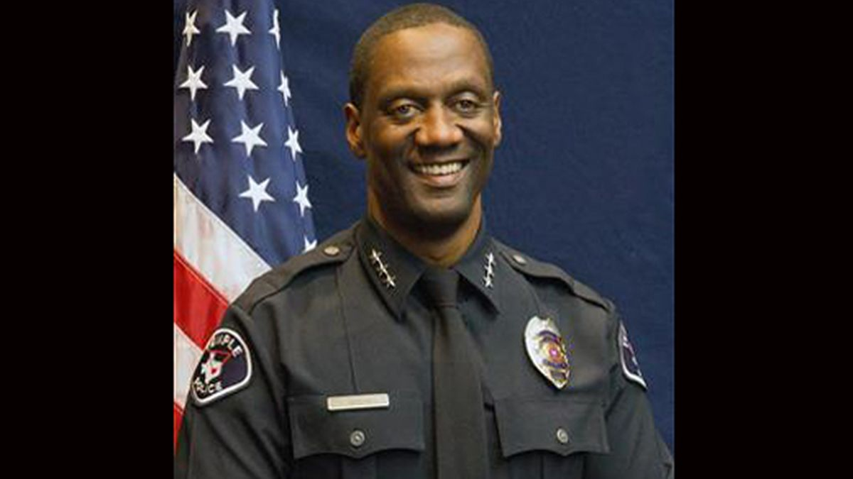 Temple Police Chief Floyd Mitchell. (City of Temple photo)