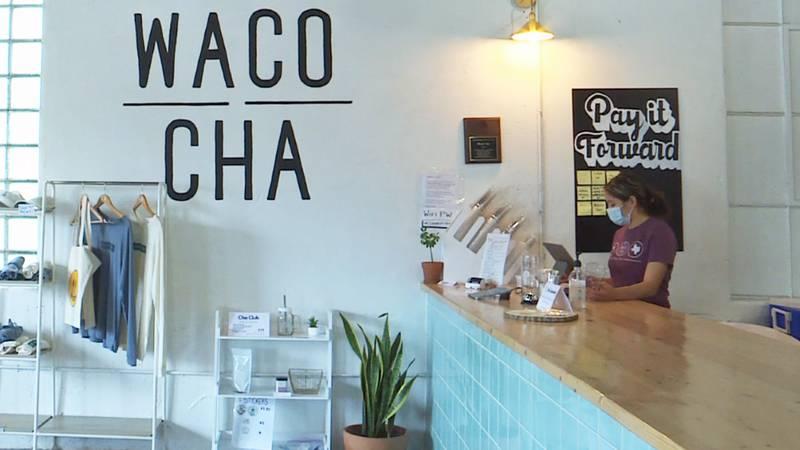 Jaja Chen and her husband own Waco Cha, an Asian teashop in downtown Waco.