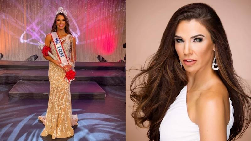 Ashley Beard, 34, of Waco, who sees herself more as an athlete than a beauty queen.