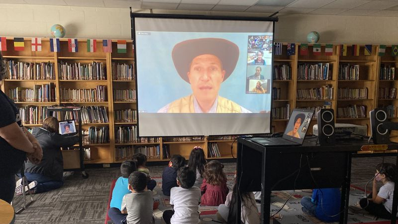 Students at one Waco elementary school took a field trip Thursday without leaving their...