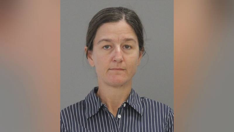 Ashlee Watts, 44, of College Station turned herself in to authorities Monday and was booked...