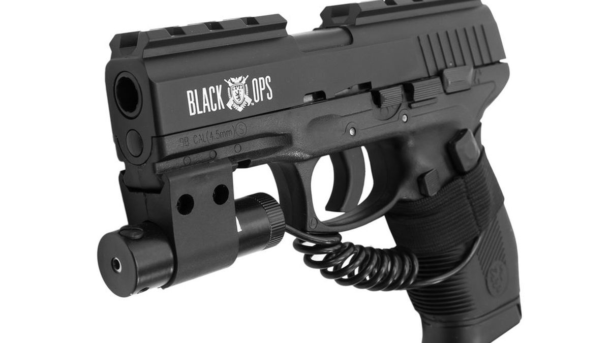 Police said the student had a Black Ops brand pellet gun resembling this one.