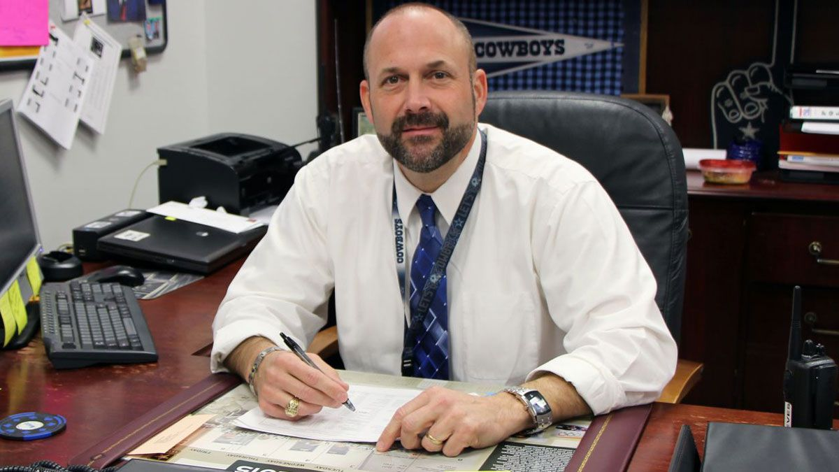 Kirbyville High School Principal Dennis Reeves. (School district photo)