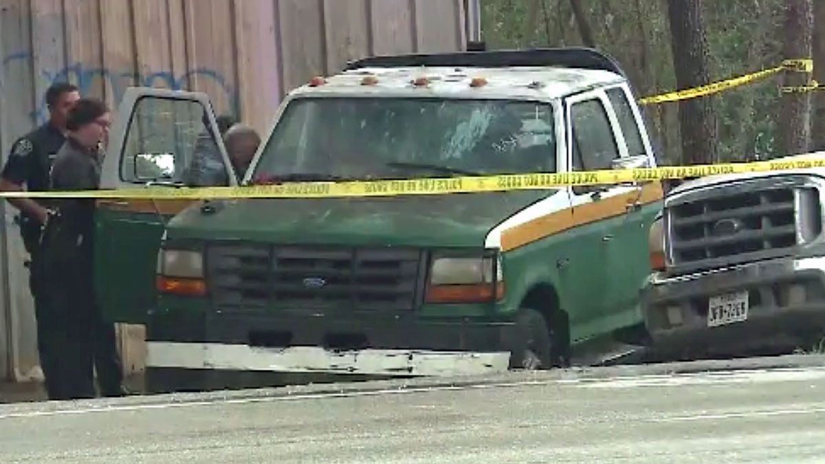 A 2-month-old child was found dead Monday morning at 5001 South Congress Ave., authorities say. (CNN VAN photo)