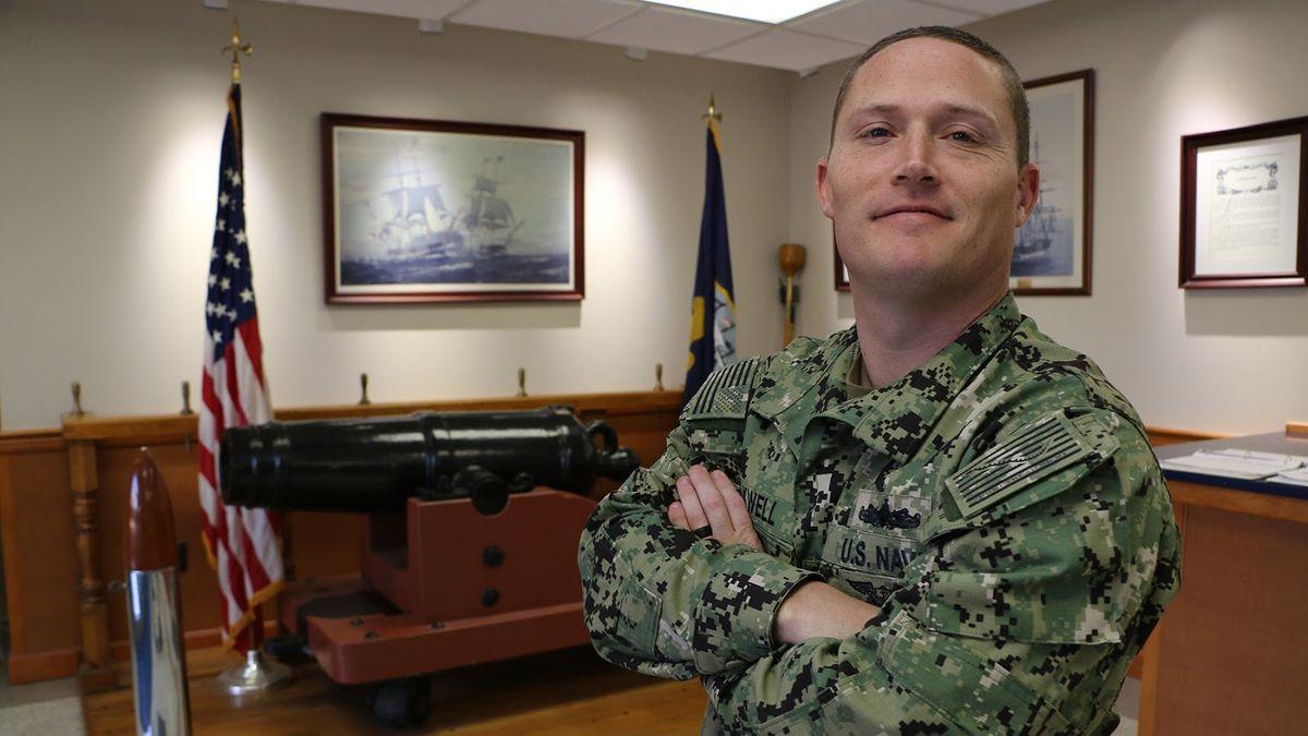 Chief Petty Officer Leland Maxwell, U.S. Navy