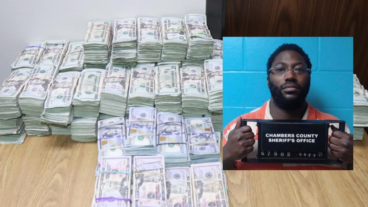 Antwone Smith was taken into custody and jailed on a charge of money laundering greater than...