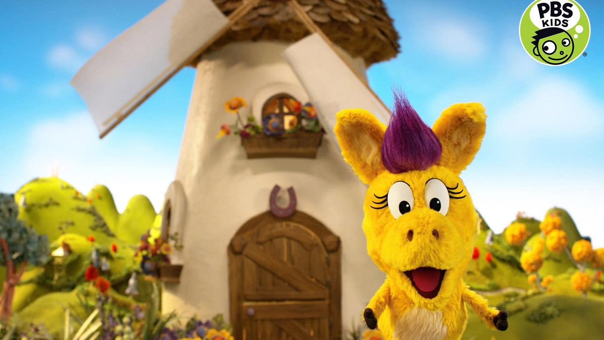 The whimsical series for children ages 3-5 starts airing Monday and centers on the adventures...