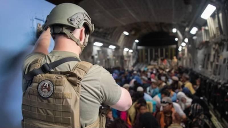 Evacuation in Afghanistan