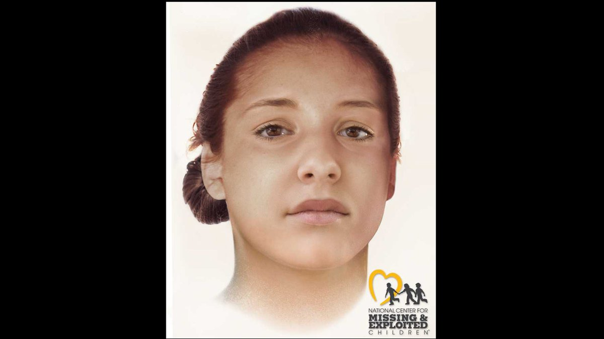 A reconstruction of what the woman's face looked like when she was alive. (Pecos Police...