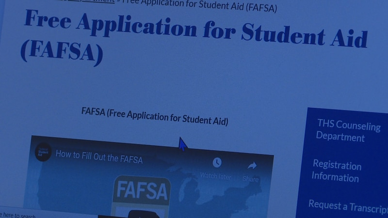 A new rule goes into effect this year that requires graduating students in Texas to fill out...
