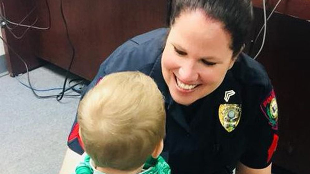 Lacy Lakeview police Sgt. Amanda Leka. (Lacy Lakeview Police Dept. photo)