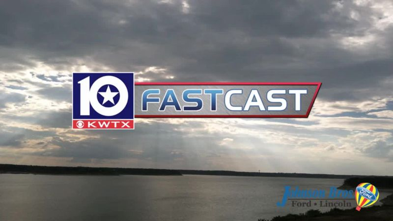 fastcast overcast lake waco sun rays partly cloudy sunshine clouds