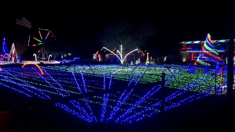At six-million, the Hetherington's Christmas light display off Hwy 6 near Crawford has twice as...