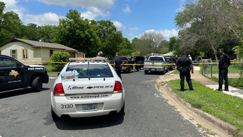 Shots were fired as U.S. Marshals served a warrant Thursday at a home near a Killeen elementary...