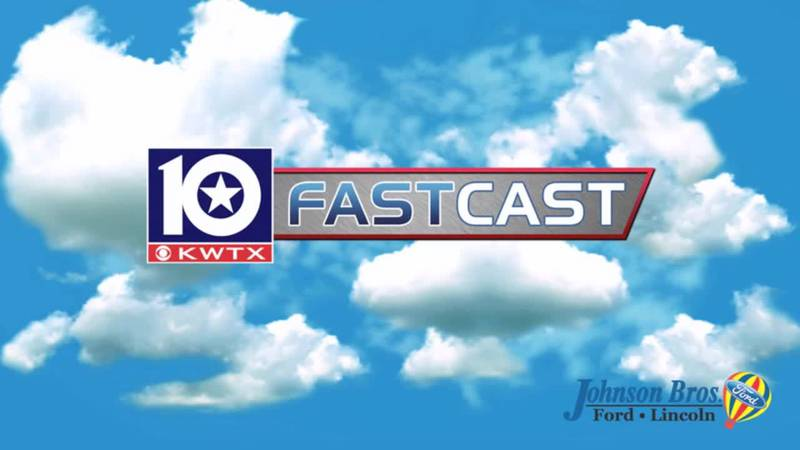 fastcast summer day partly cloudy blue sky white clouds fair weather