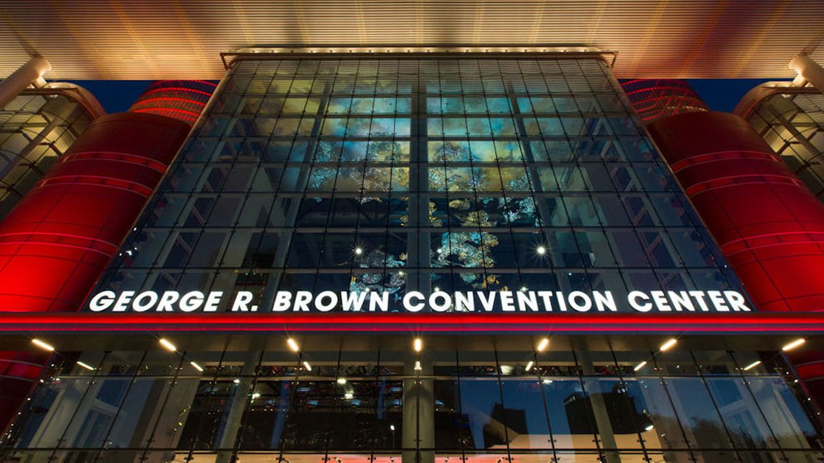 The Texas Medical Association is urging Texas Republicans to reconsider plans to hold their state convention in person later this month at the George R. Brown Convention Center in Houston. (City of Houston photo)