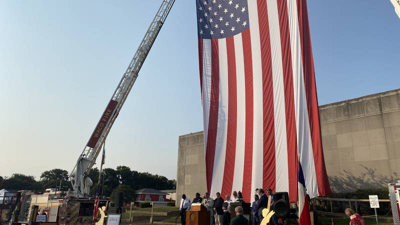 20 years after the horrific events of September 11, 2001, dozens of Central Texans gathered at...