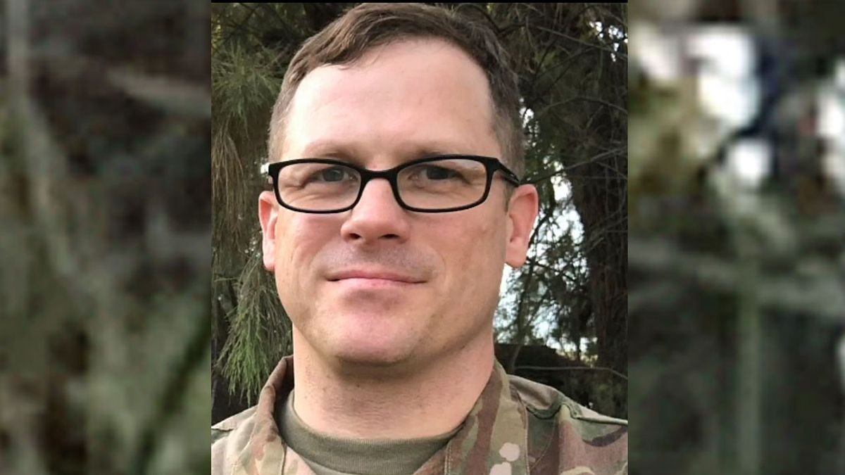 Maj. Andrew Calvert is the unit chaplain for Fort Hood's 3rd Security Force Assistance Brigade.