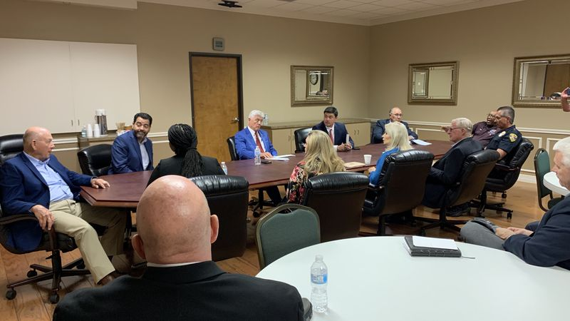 U.S. Rep. Roger Williams, R-Austin, held a roundtable with community leaders in Killeen.
