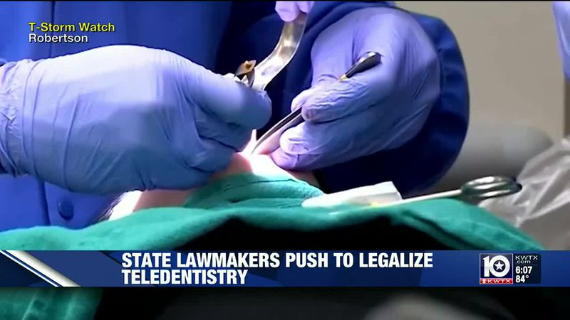Democrats, Republicans push for teledentistry to be legal in Texas