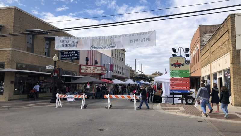 Hundreds of visitors checked out dozens of holiday vendors in downtown Belton Saturday afternoon.