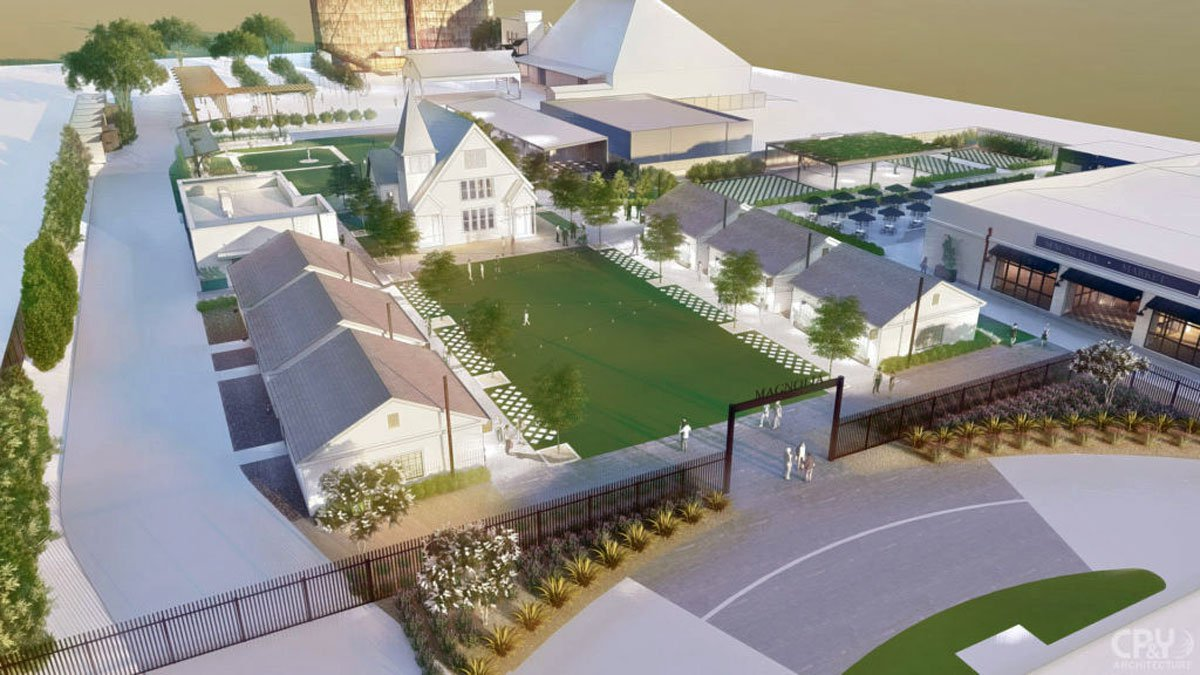 Chip and Joanna Gaines unveiled plans Thursday for the expansion of the grounds of the Silos in...