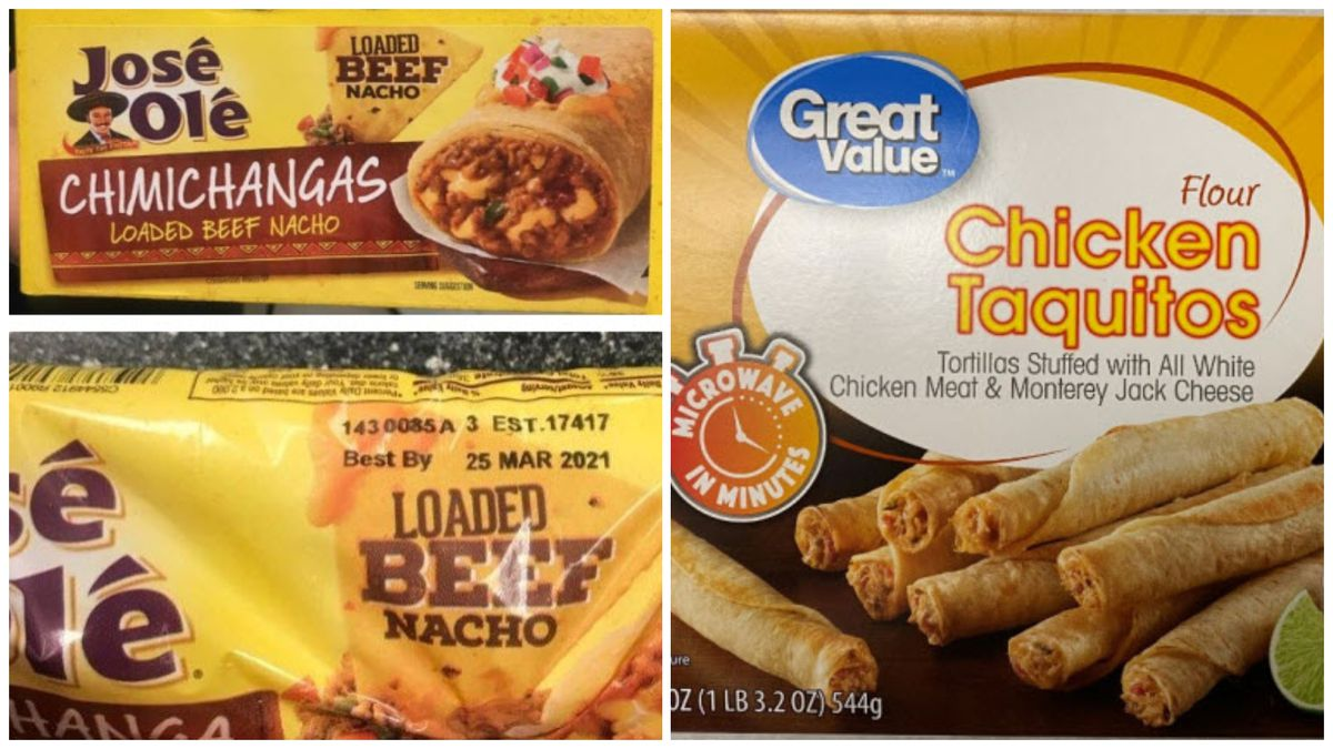 The U.S. Department of Agriculture's Food Safety and Inspection Service (FSIS) is issuing a public health alert for ready-to-eat (RTE) beef and chicken taquitos and chimichangas products due to concerns that the products may be contaminated with extraneous materials, specifically hard plastic.